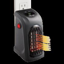 Konnektorba  csatlakoztatható mini elektromos hősugárzó digitális kijelzővel