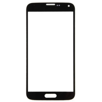 Samsung Galaxy S5 mobiltelefonhoz fekete érintőüveg