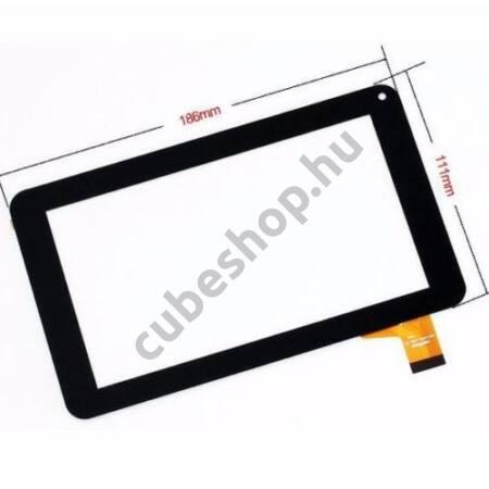 Serioux Vision XS716 Tablethez érintő üveg, érintőpanel, érintőkijelző, érintőképernyő