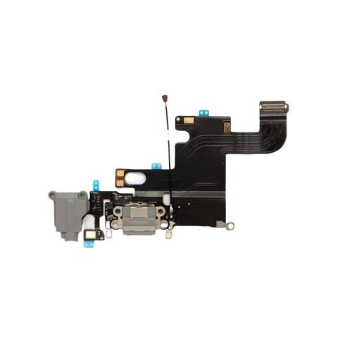 iPhone 6 6G töltő audió mikrofon flex kábel szürke