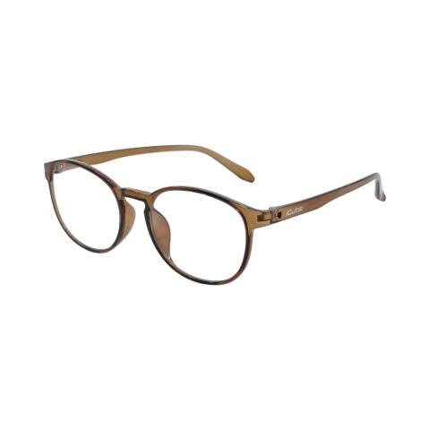 iCube Fride - Brown - Kékfény szűrő Monitor szemüveg - Gamer szemüveg