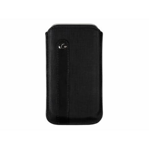 Cellularline Tok, GIOTTO, mobiltelefonhoz, univerzális, kihúzható füllel, fekete