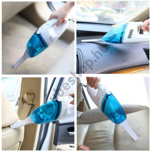 Szivargyújtóra csatlakoztatható kézi porszívó autóba