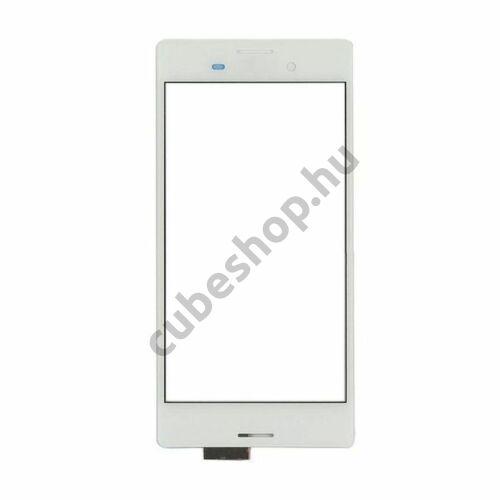 Sony Xperia M4 Aqua fehér mobiltelefonhoz érintőpanel