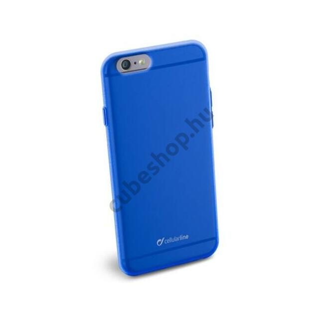 Cellularline Tok, COLOR SLIM, mobiltelefonhoz, gumi, iPhone 6/6S, kék