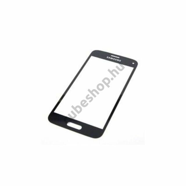 Samsung Galaxy S4 mini mobiltelefonhoz fekete érintőüveg