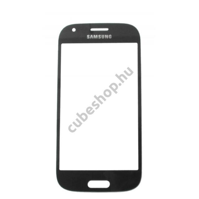 Samsung Galaxy ACE 4 G357 G357FZ mobiltelefonhoz fekete érintőüveg