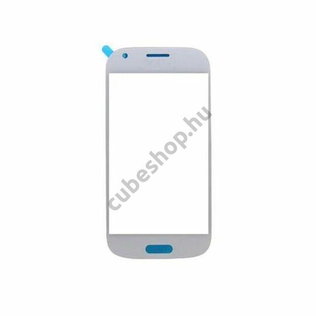 Samsung Galaxy ACE 4 G357 G357FZ mobiltelefonhoz fehér érintőüveg
