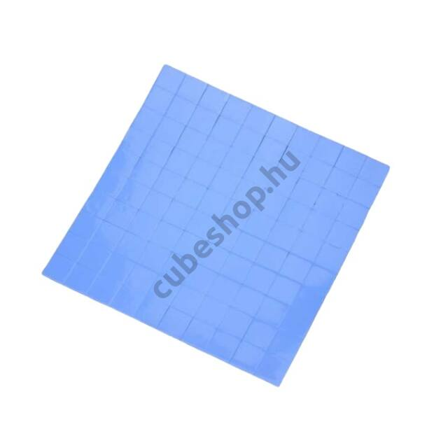 Szilikon hővezető lapka, Thermopad 10x10x2mm 100 db
