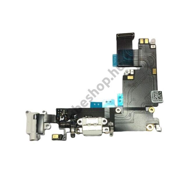 iPhone 6 6G töltő audió mikrofon flex kábel fehér