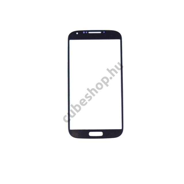 Samsung Galaxy S4 mobiltelefonhoz fekete érintőüveg