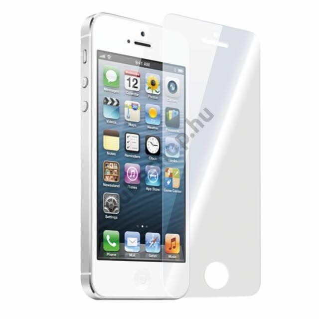 iPhone 5, 5S, 5SE mobiltelefonhoz kijelzővédő üvegfólia 2db