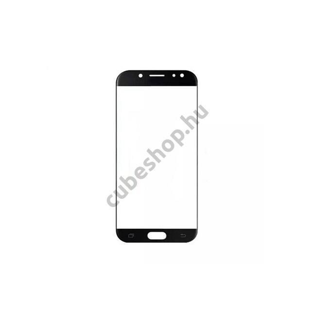Samsung Galaxy J5 2017 mobiltelefonhoz fekete érintőüveg