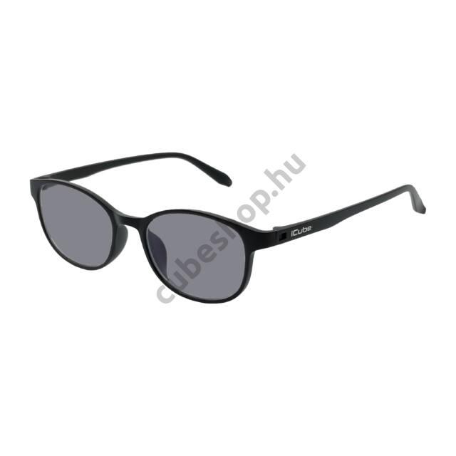 iCube Fride - Black - Fényre sötétedő - Kékfény szűrő Monitor szemüveg