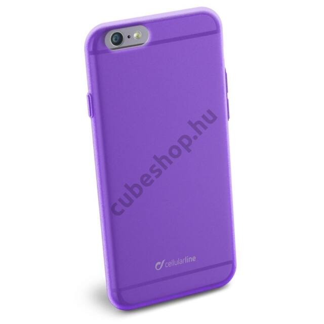 Cellularline Tok, COLOR SLIM, mobiltelefonhoz, gumi, iPhone 6/6S, lila