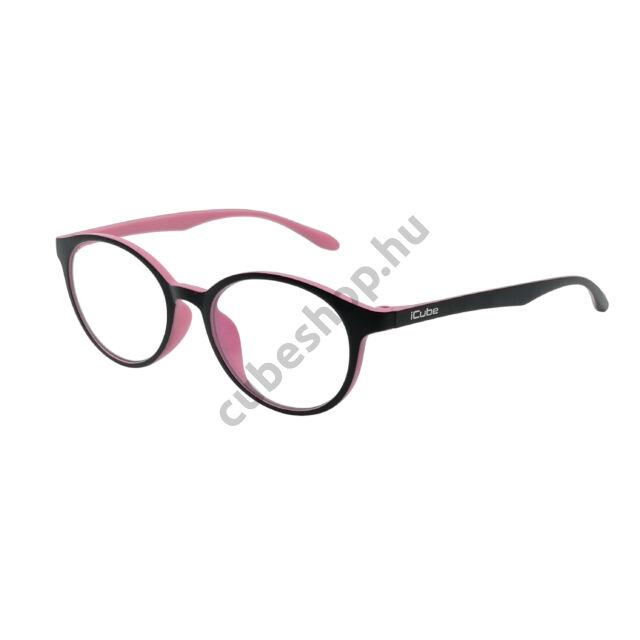 iCube Tinity - Pink - Kékfény szűrő Monitor szemüveg - Gamer szemüveg